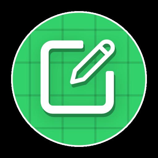 sticker maker for WhatsApp app logo